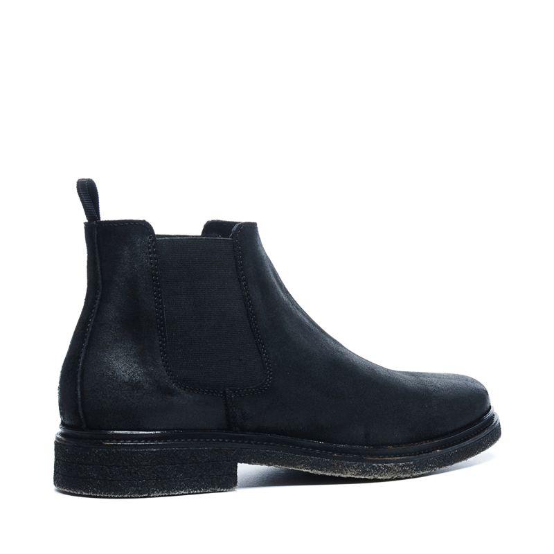 schwarze chelsea boots herrenschuhe. Black Bedroom Furniture Sets. Home Design Ideas