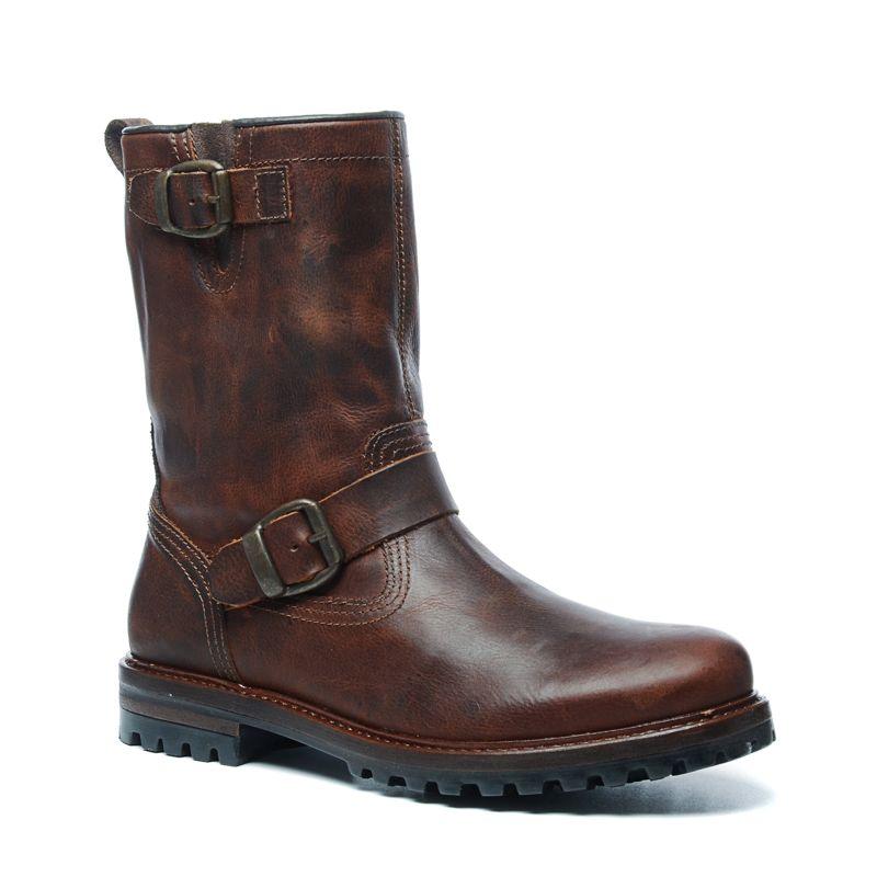 braune boots mit zwei schnallen herrenschuhe sacha. Black Bedroom Furniture Sets. Home Design Ideas