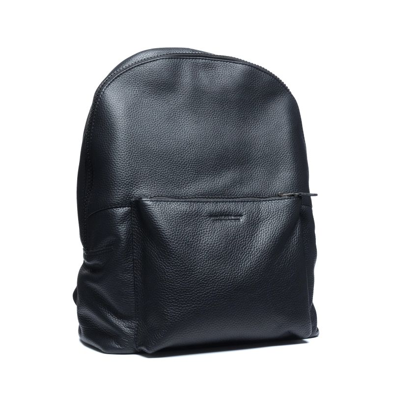 schwarzer leder rucksack taschen sacha. Black Bedroom Furniture Sets. Home Design Ideas