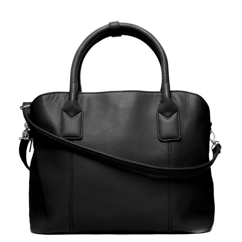 schwarze handtasche taschen. Black Bedroom Furniture Sets. Home Design Ideas