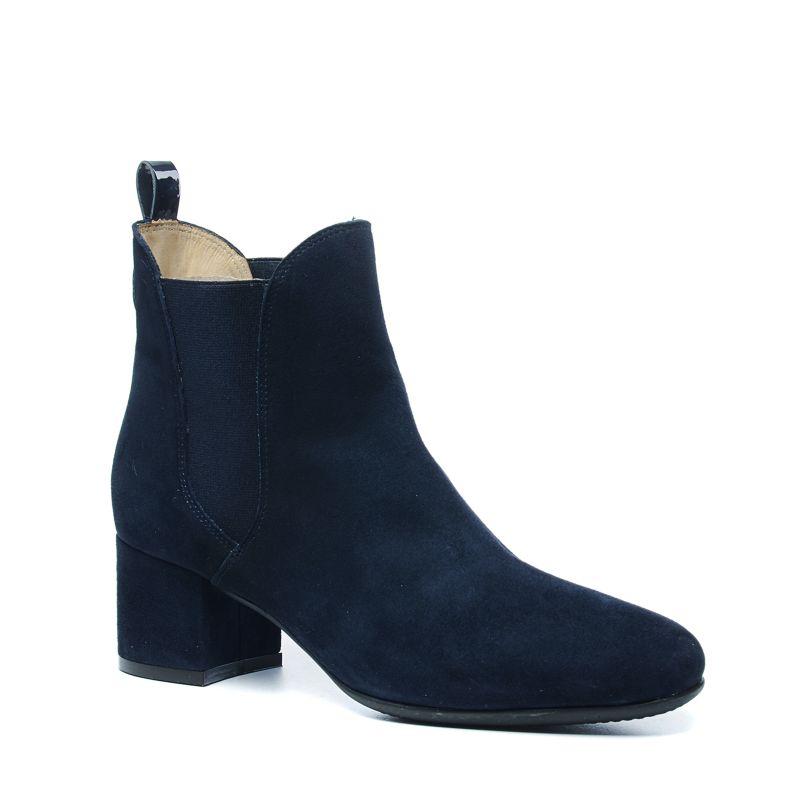 gant chelsea boots aus veloursleder mit absatz damenschuhe. Black Bedroom Furniture Sets. Home Design Ideas