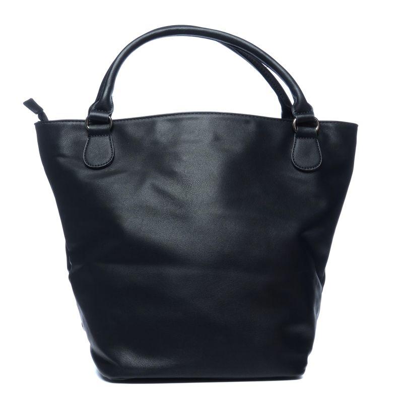Schoudertas Studs : Zwarte schoudertas met studs tassen sacha