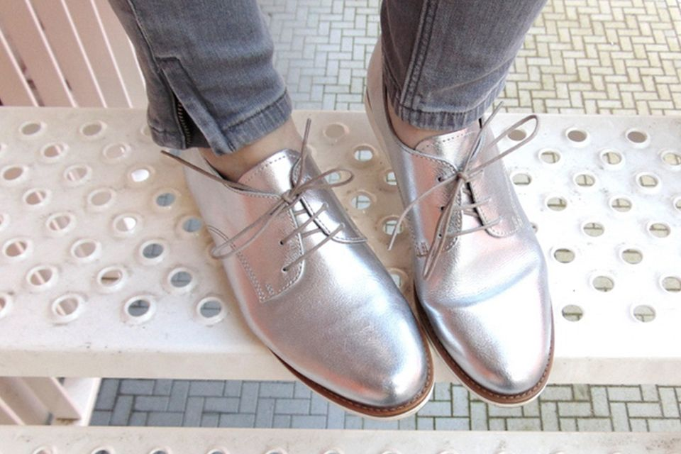 chaussures pailletees