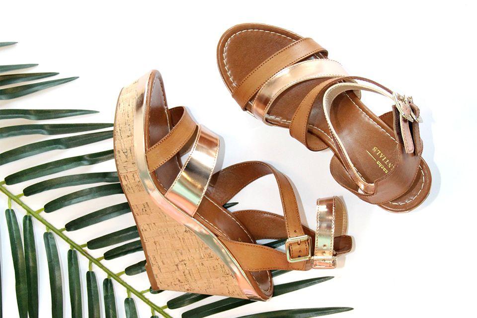 sleehak sandalen