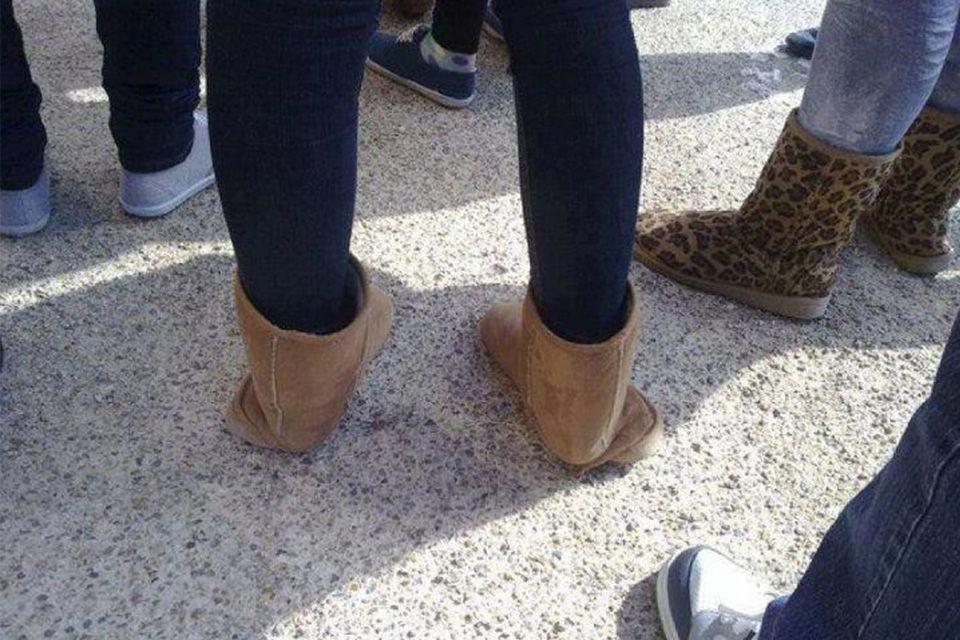 Modemissers schoenen