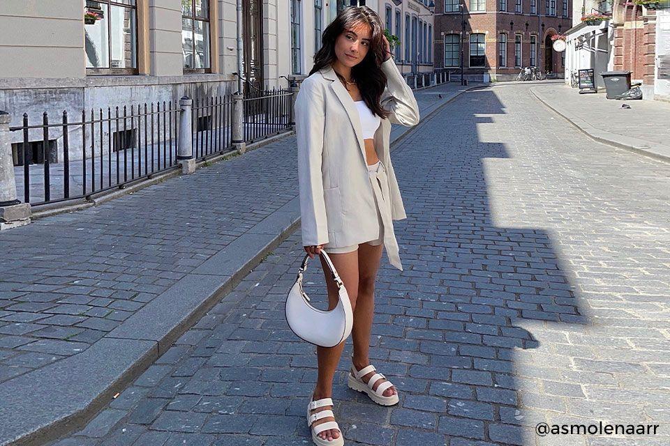 sandalen met jurkje