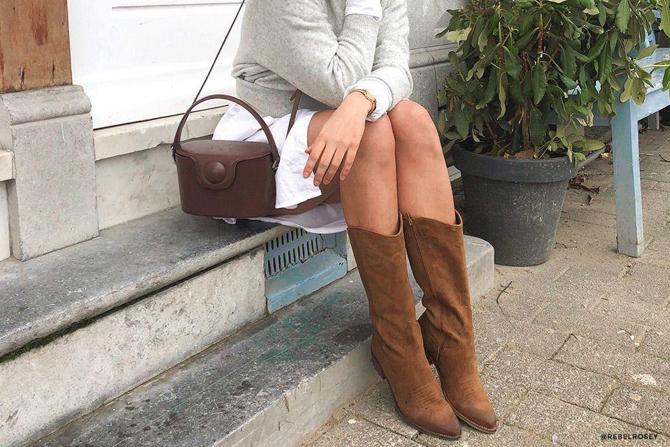 Hoge laarzen combineren: zó draag je jouw boots