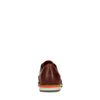 Cognac kleurige veterschoenen