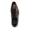 Chaussures à lacets en cuir - marron foncé