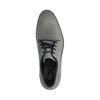 Chaussures à lacets en cuir - gris
