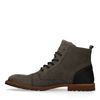 Boots à lacets - gris foncé