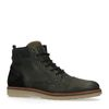 Chaussures à lacets en cuir - vert