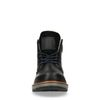 Boots à lacets avec fausse fourrure - noir