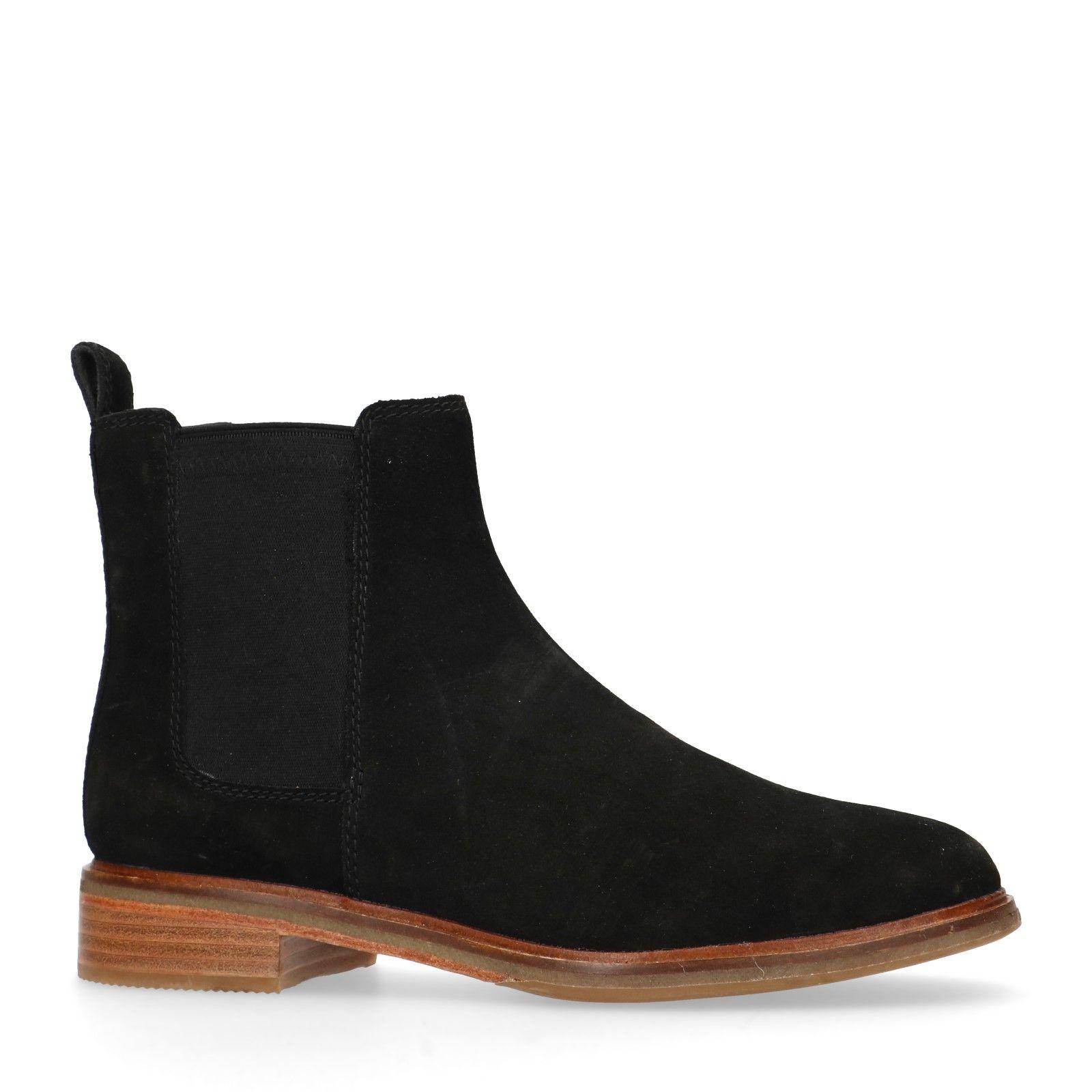 Clarks Suède chelsea boots Arlo