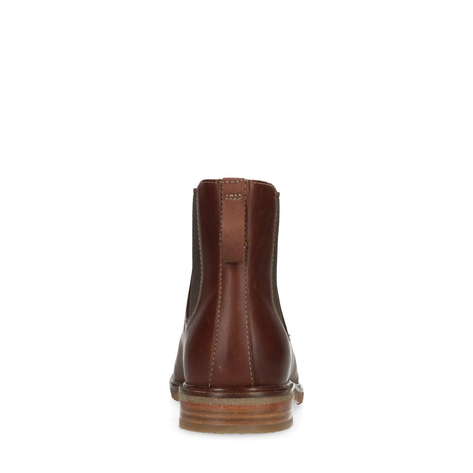 Chelsea Bruine Leren Clarks Gobi Boots BCxdeo