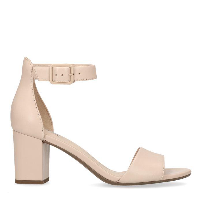 super popular 8d83e 9e523 Clarks Nude roze Deva Mae D sandalen