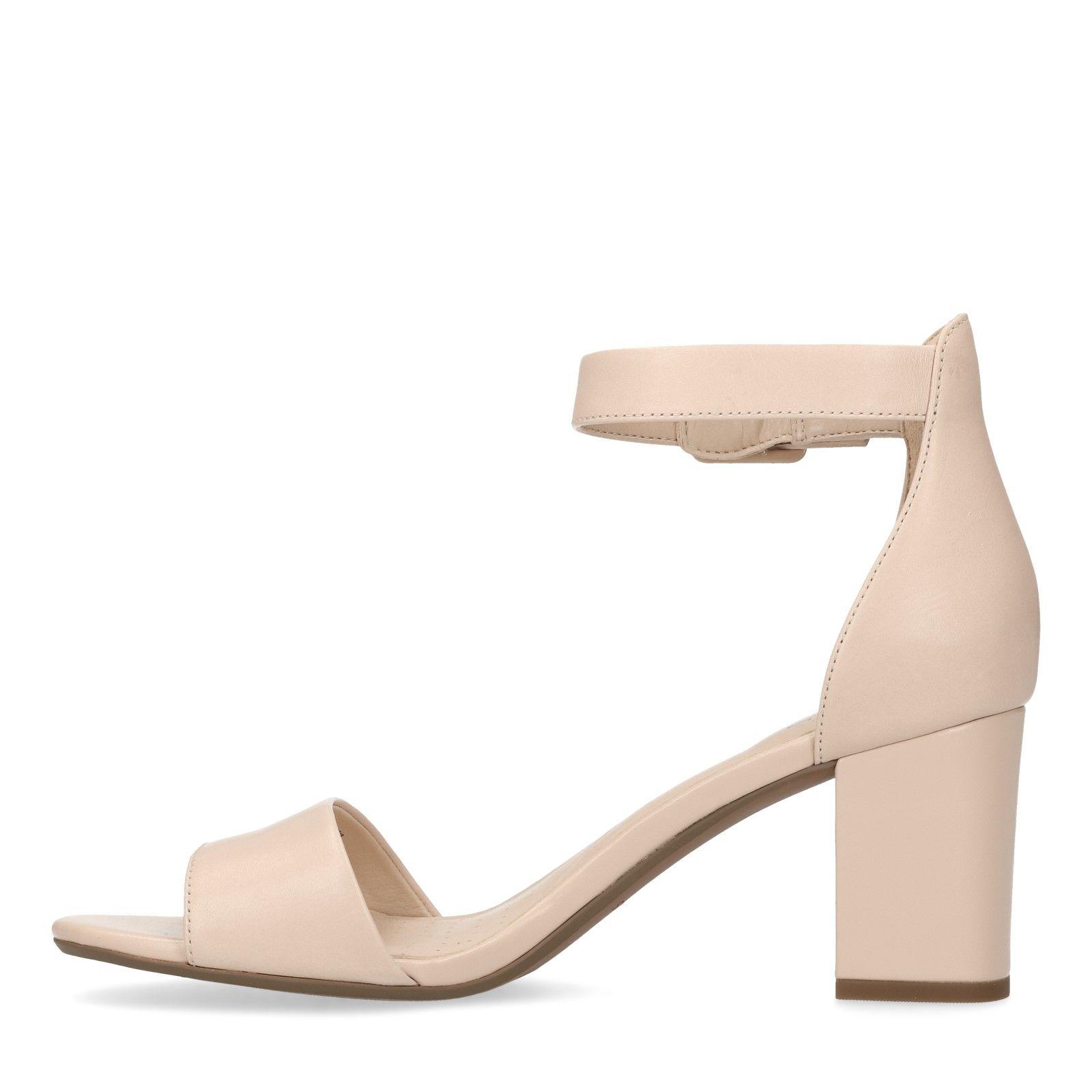 best website 14c57 244ad Nude roze Deva Mae D sandalen - Dames | MANFIELD