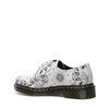 Dr. Martens Chaussures à lacets avec imprimé - blanc