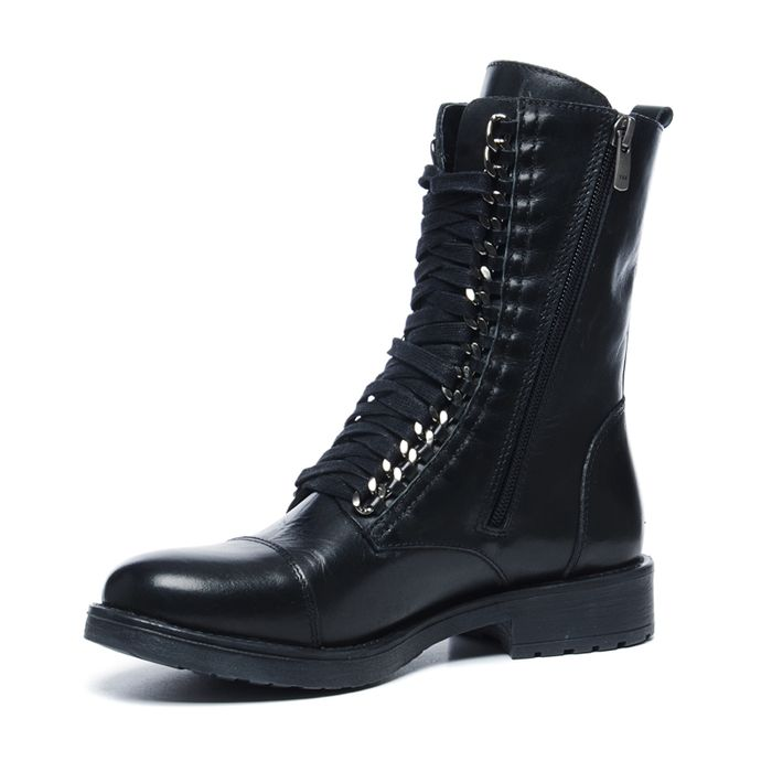 Sacha x Fashionchick schwarze Schnürstiefel