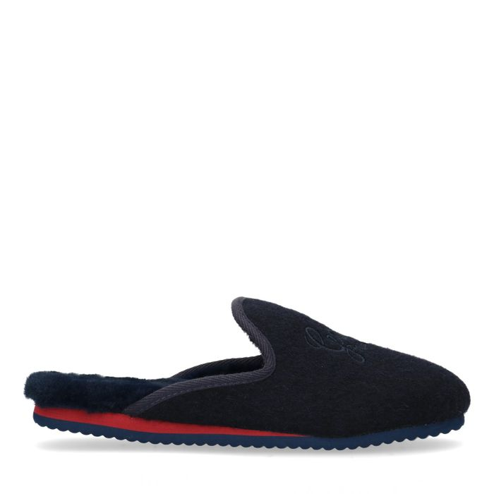 Gant pantoffels blauw