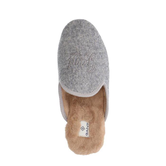 GANT pantoffels grijs