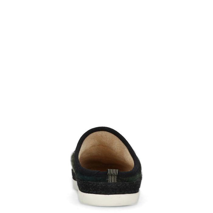 GANT Frank donkergroene pantoffels
