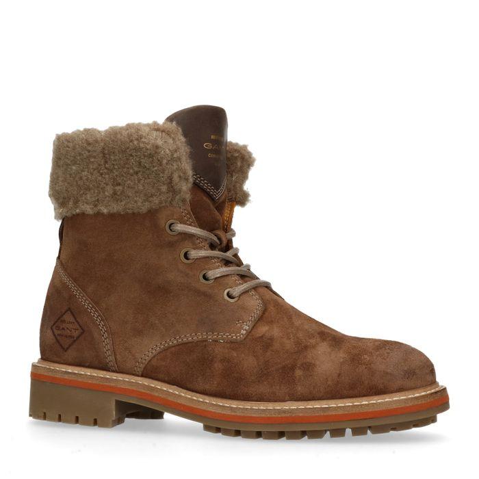 GANT Natalie bruine hiker boots