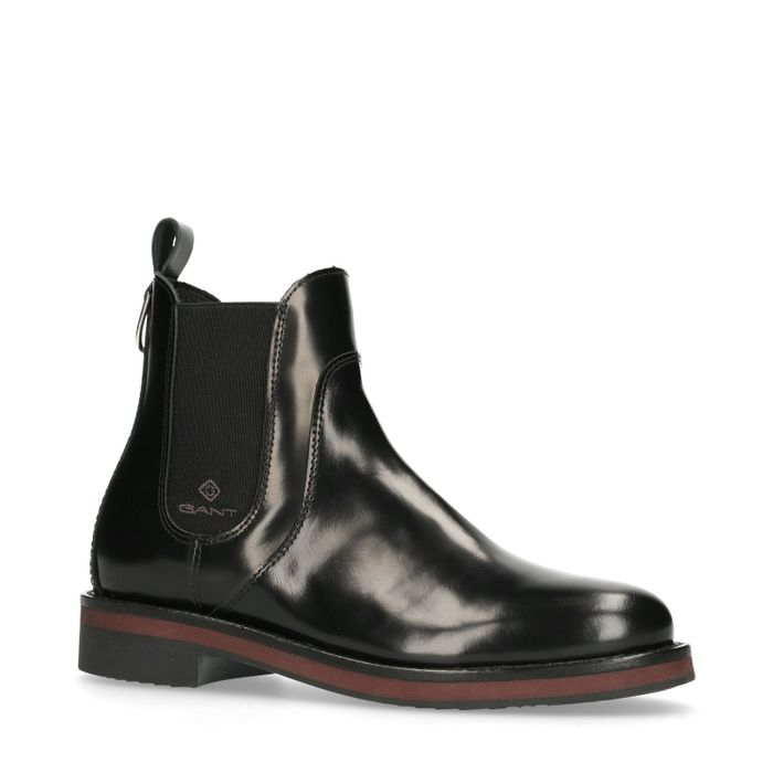 GANT Malin zwarte chelsea boots