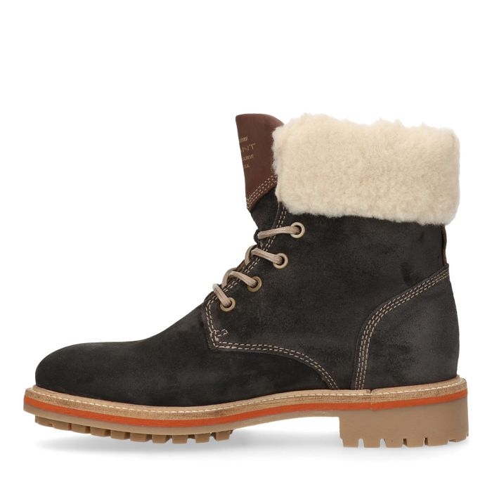 GANT Natalie donkerblauwe hiker boots