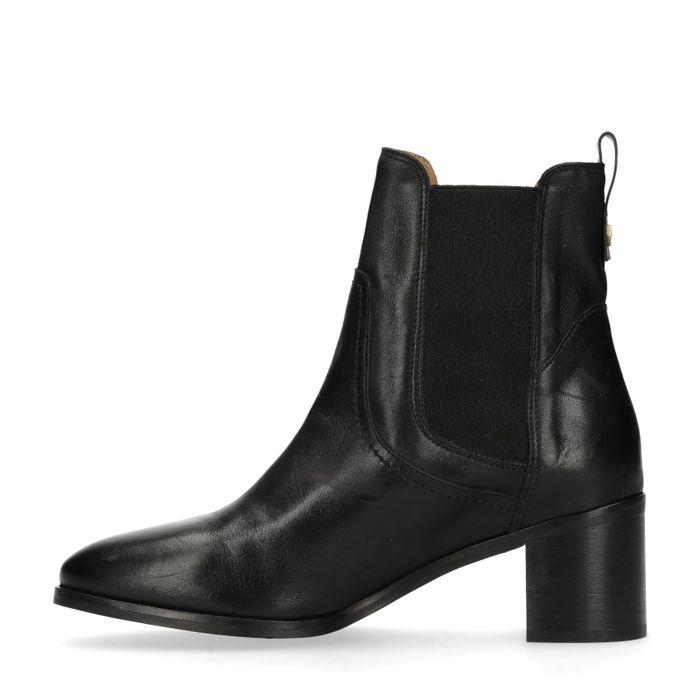 GANT Johanna zwarte chelsea boots met hak