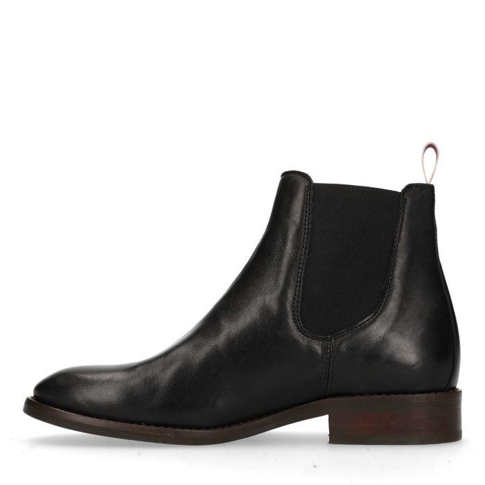GANT Fay zwarte leren chelsea boots