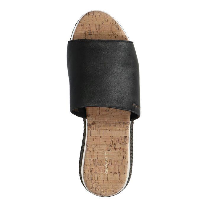 GANT Sant Ana zwarte slippers