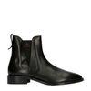 GANT Zwarte leren chelsea boots
