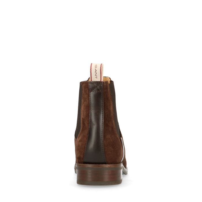 GANT Fay donkerbruine chelsea boots
