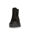 GANT zwarte suède chelsea boots met imitatiebont