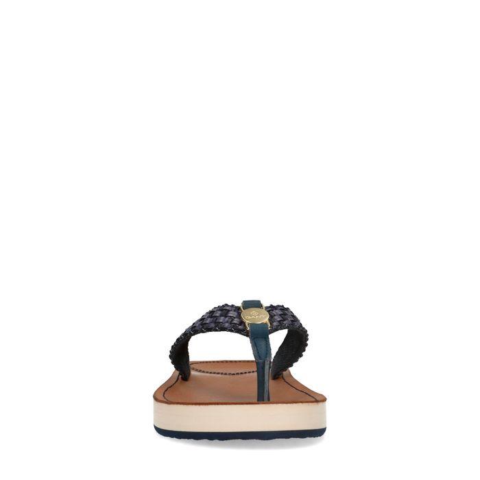 GANT Flatville blauwe slippers