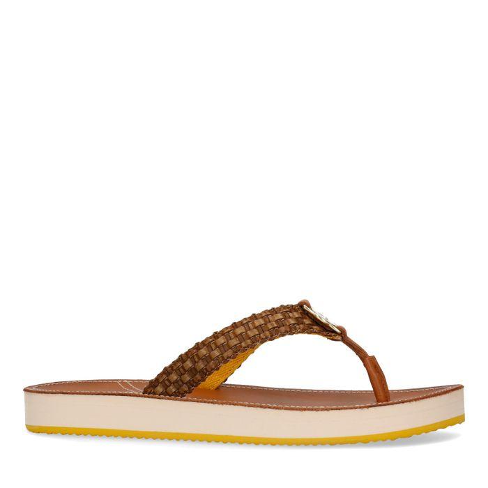GANT Flatville bruine slippers