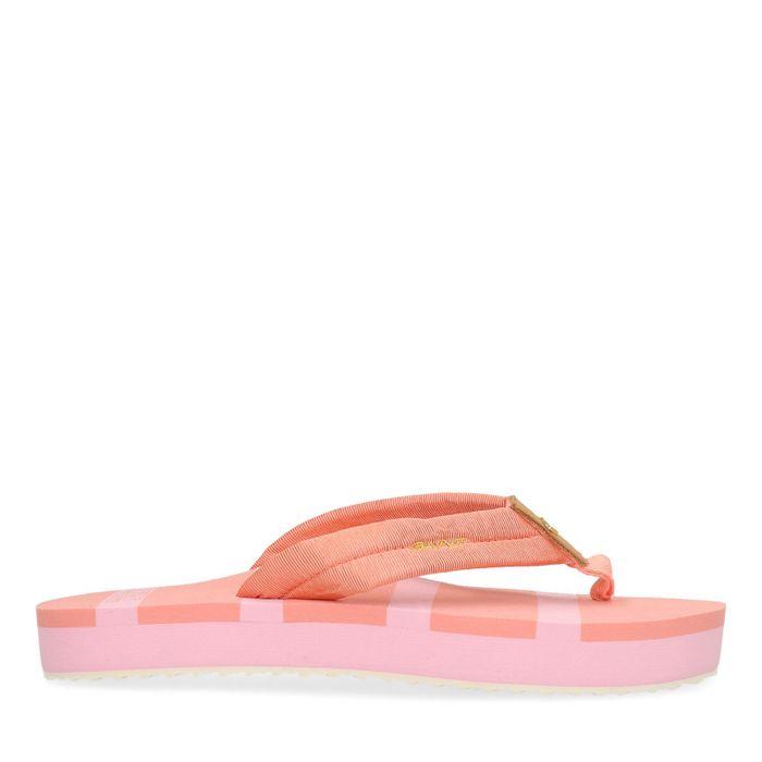 GANT roze plateau slippers