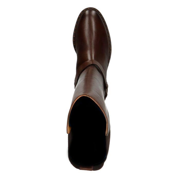 GANT Hampton Bottes en cuir - marron