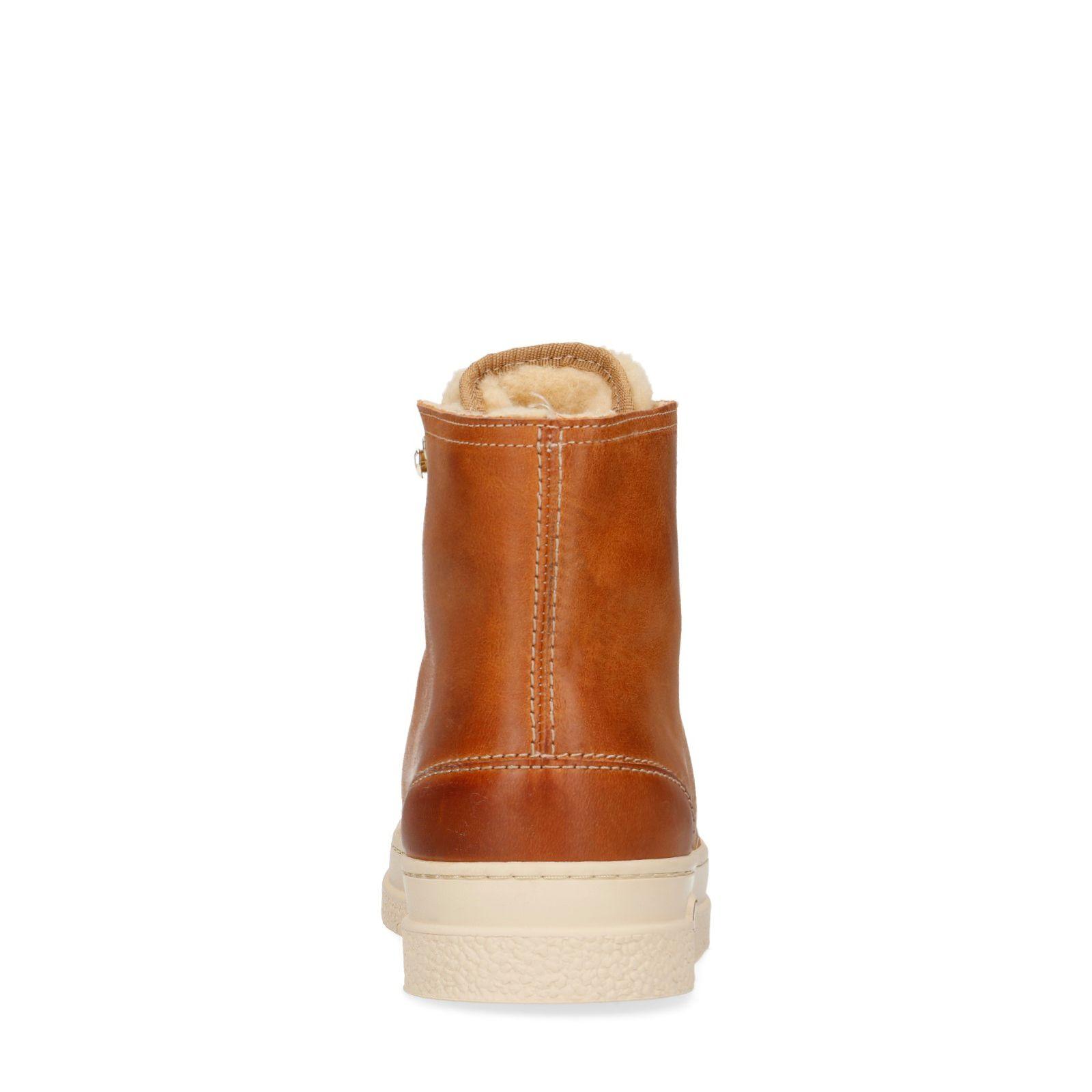 Bottines Gant GANT marron cuir lacets en à 5AL4j3R