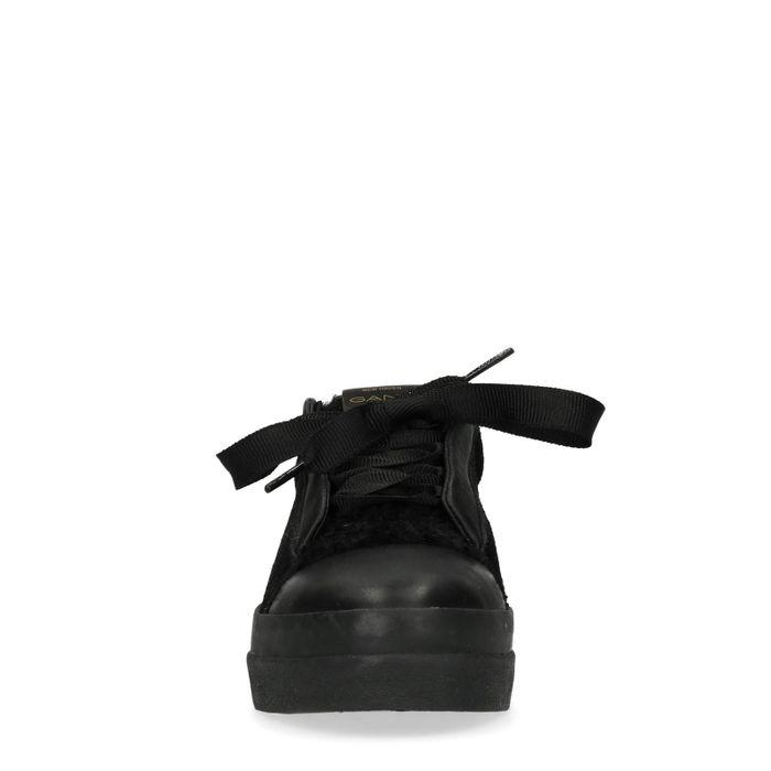 GANT Amanda Baskets avec fausse fourrure - noir