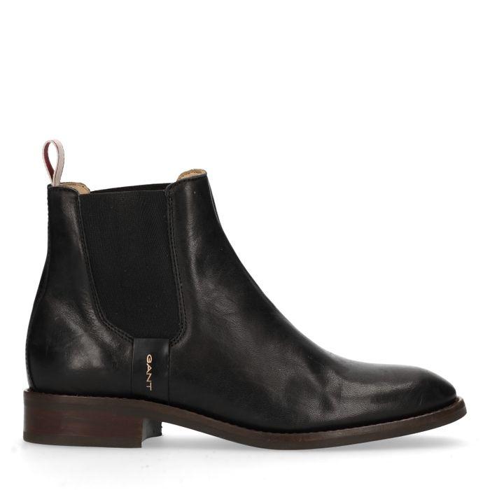 GANT Fay Chelsea boots en cuir - noir