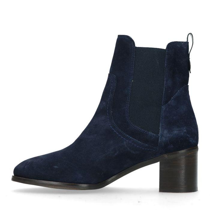 GANT Johanna Chelsea boots à talon - bleu foncé