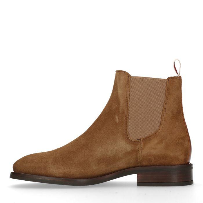 GANT Fay Chelsea boots en daim - marron
