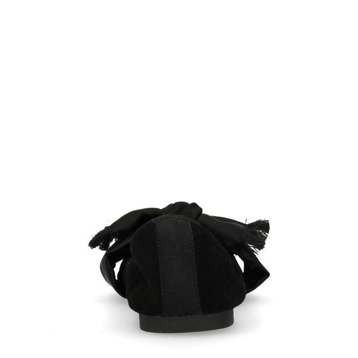 GANT Ballerines avec nœud - noir