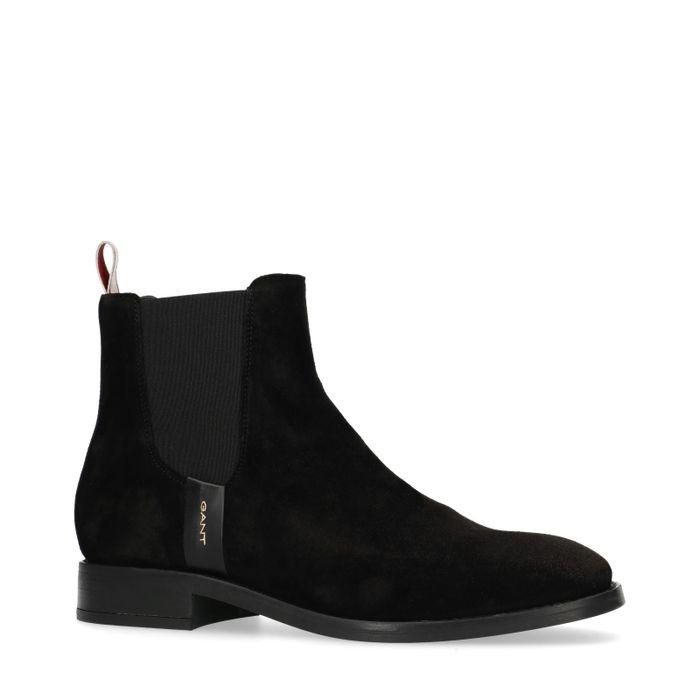 GANT Fay Chelsea boots en daim - noir