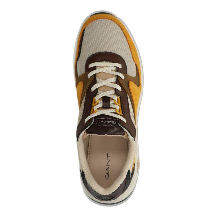GANT Portland lage sneakers bruin