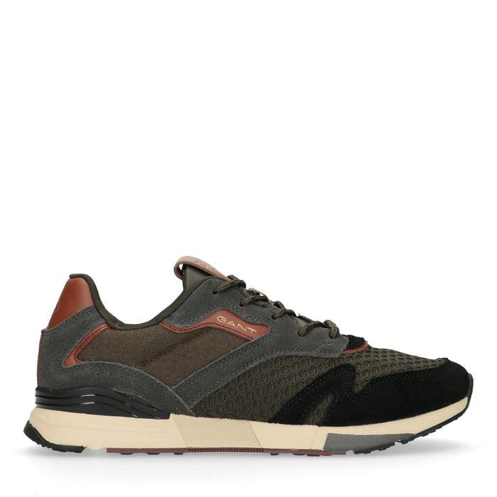 GANT Atlanta donkergroene sneakers