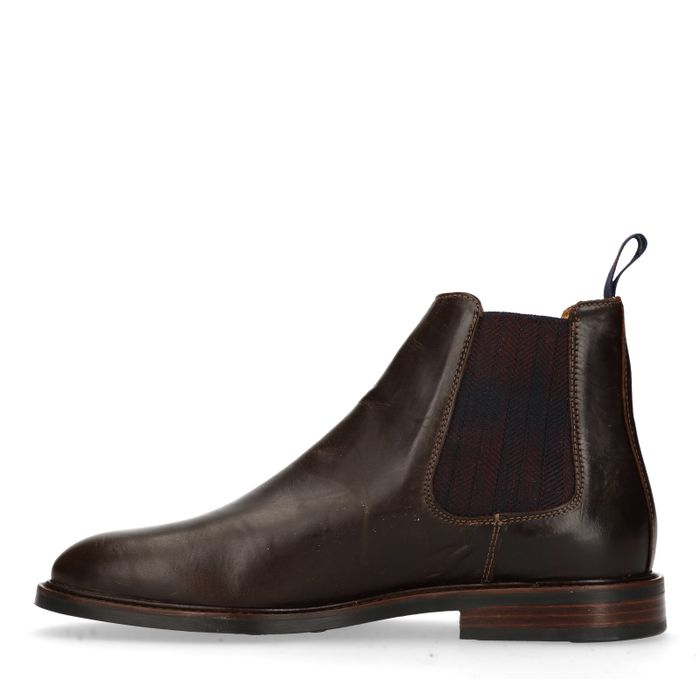 GANT Ricardo donkerbruine chelsea boots