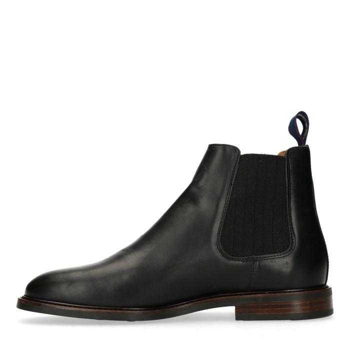 GANT Ricardo zwarte chelsea boots